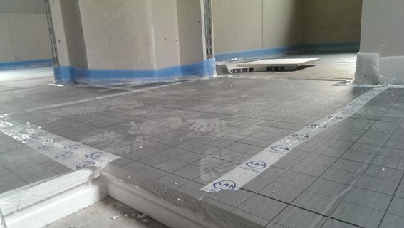 Dämmung Fußboden Unter Estrich ~ Innenausbau rohinstallationen bis zum estrich